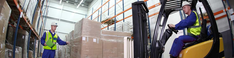 Storage of goods header